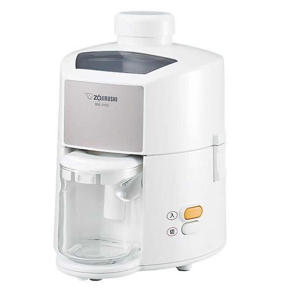 清潔に保てる安心感が 毎日の一杯をもっと身近にする 使い勝手の良い 象印 セール特別価格 ジューサー WA BM-JH05 ホワイト 0.45L
