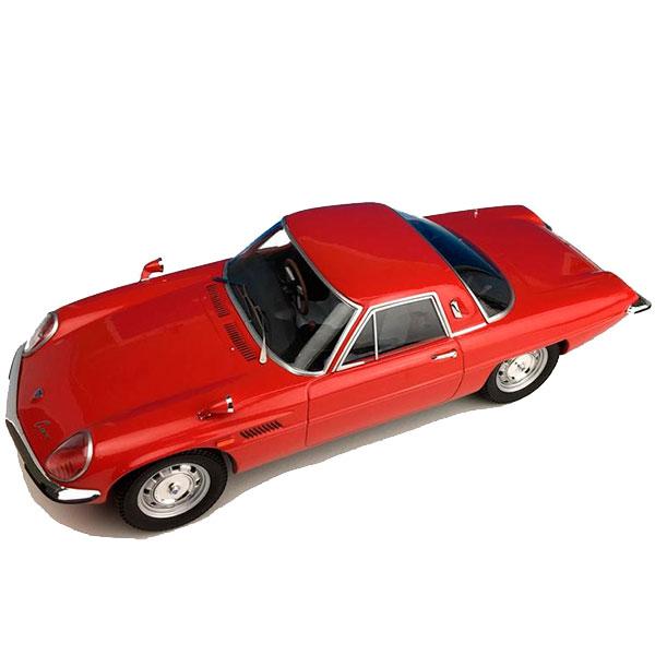 細部までこだわって作り上げられたモデルカー First18 ファースト18 マツダ コスモスポーツ L10B 1 ショッピング F18009 レッド 後期型 優先配送 18スケール