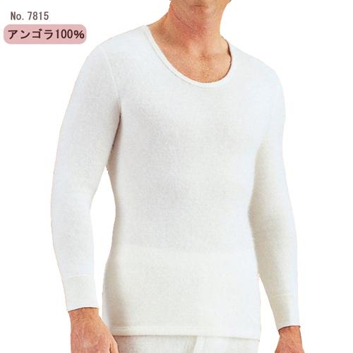 メディマ アンゴラ100% メンズ 長袖シャツ ドイツ製(LBサイズ)
