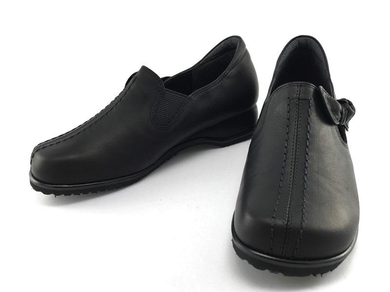 送料無料 MODE NINE モード ナイン13120 レディースコンフォートカジュアル 4E 革靴 日本製