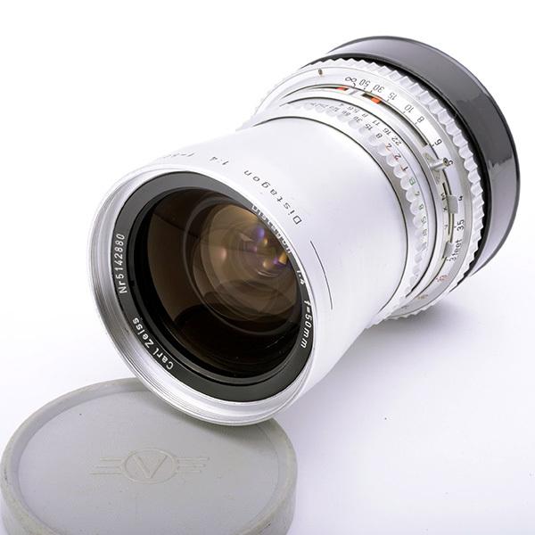Hasselblad ハッセルブラッド Distagon ディスタゴン C50mmF4 白鏡胴【中古】AB