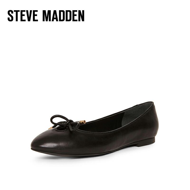 パンプス 履き心地がいいシューズ 痛くない レディース靴 STEVE MADDEN スティーブ マデン レディース 黒 ブラック ローヒール ぺたんこ 歩きやすい 靴 ベージュ 走れる 送料無料 通勤 美脚 日常 おしゃれ 高級な オフィス 大きいサイズ40 市販 仕事 小さいサイズ34 フォーマル RETRO 履きやすい