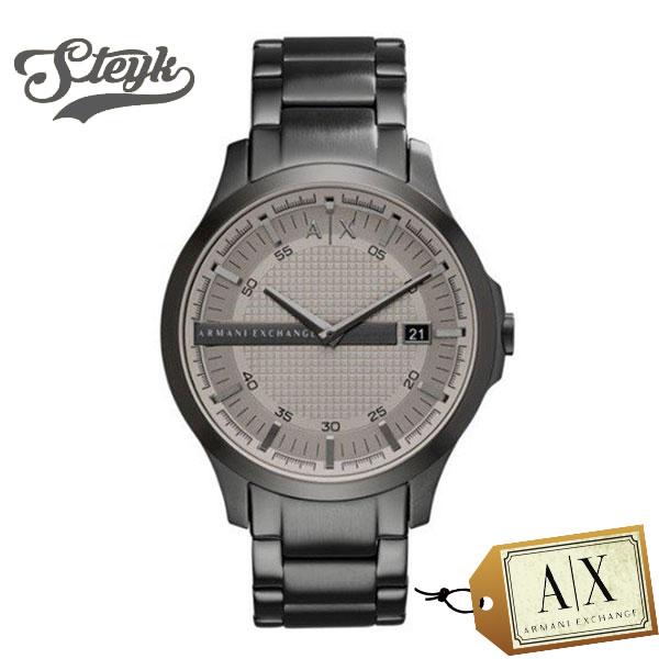 Armani Exchange AX2194 アルマーニエクスチェンジ 腕時計 アナログ CAYDE ケイド メンズ グレー シルバー ビジネス