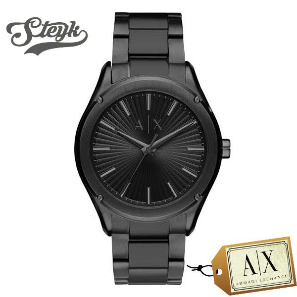 Armani Exchange AX2802 アルマーニエクスチェンジ 腕時計 アナログ メンズ ブラック ビジネス