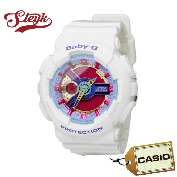 【あす楽対応】CASIO カシオ 腕時計 Baby-G ベビージー アナデジ BA-112-7A レディース【送料無料】