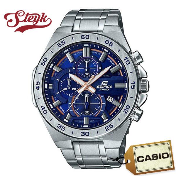 CASIO EFR-564D-2A カシオ 腕時計 アナログ EDIFICE エディフィス メンズ シルバー ブルー ビジネス
