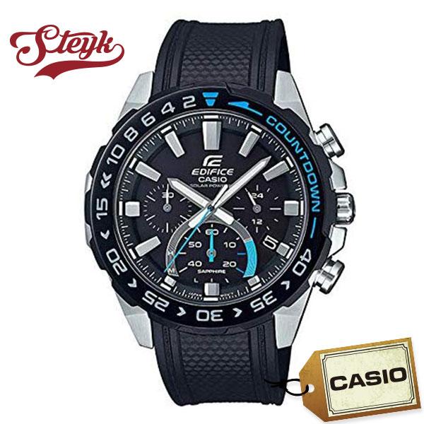 CASIO EFS-S550PB-1A カシオ 腕時計 アナログ エディフィス EDIFICE ソーラー メンズ ブラック シルバー カジュアル ビジネス