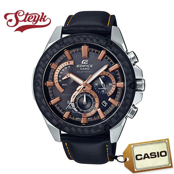 CASIO EQS-910L-1A カシオ 腕時計 アナログ EDIFICE エディフィス Bluetooth ソーラー メンズ ブラック シルバー カジュアル