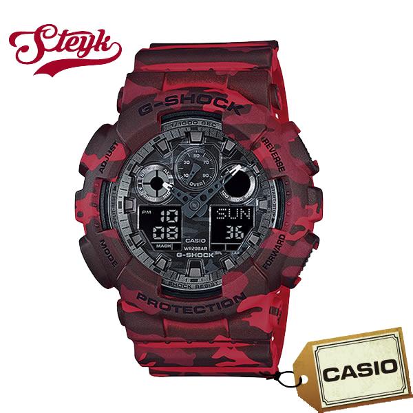 【あす楽対応】CASIO カシオ 腕時計 G-SHOCK Gショック アナデジ GA-100CM-4