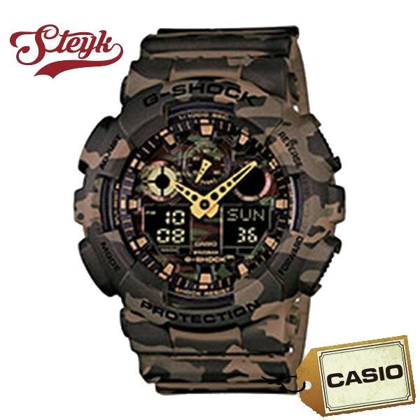 【あす楽対応】CASIO カシオ 腕時計 G-SHOCK Gショック アナデジ GA-100CM-5