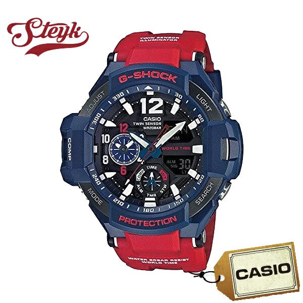 【あす楽対応】CASIO カシオ 腕時計 G-SHOCK ジーショック SKY COCKPIT スカイコックピット アナデジ GA-1100-2A メンズ【送料無料】