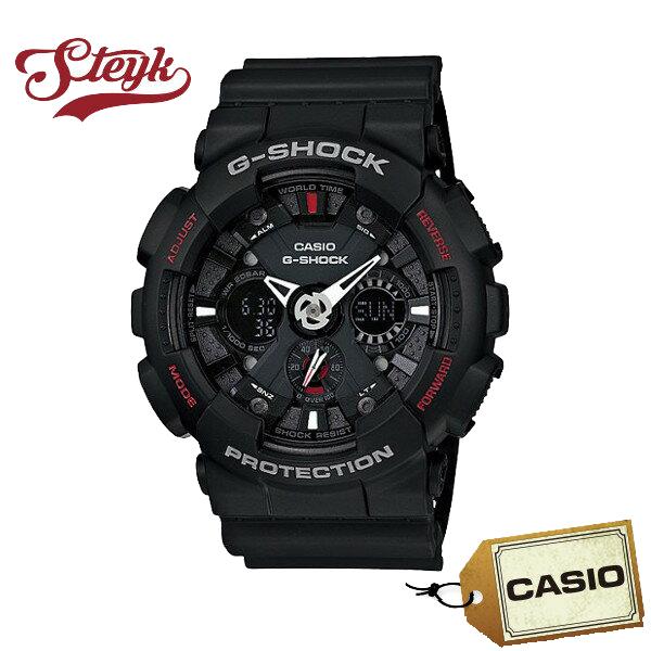 【あす楽対応】CASIO カシオ 腕時計 G-SHOCK ジーショック アナデジ GA-120-1A メンズ【送料無料】