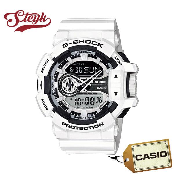 【あす楽対応】CASIO カシオ 腕時計 G-SHOCK ジーショック アナデジ GA-400-7A メンズ【送料無料】