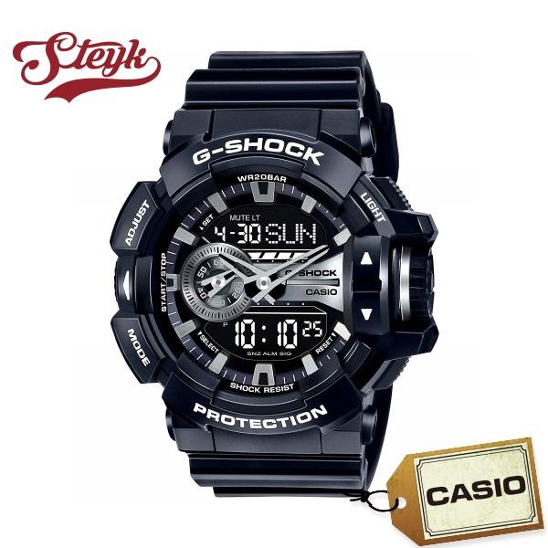 【あす楽対応】CASIO カシオ 腕時計 G-SHOCK ジーショック アナデジ GA-400GB-1A メンズ【送料無料】