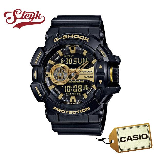 【あす楽対応】CASIO カシオ 腕時計 G-SHOCK ジーショック アナデジ GA-400GB-1A9 メンズ【送料無料】