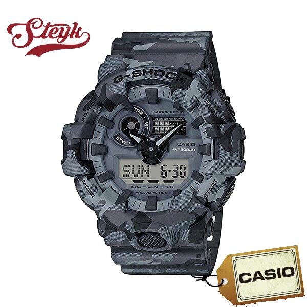 CASIO カシオ 腕時計 G-SHOCK ジーショック GA-700CM-8A アナデジ メンズ