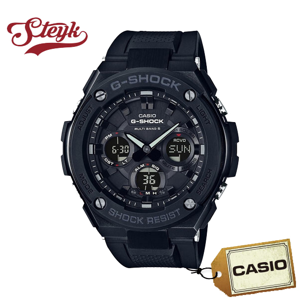 【あす楽対応】CASIO カシオ 腕時計 G-SHOCK ジーショック G-STEEL ジースチール アナデジ GST-W100G-1B メンズ【送料無料】