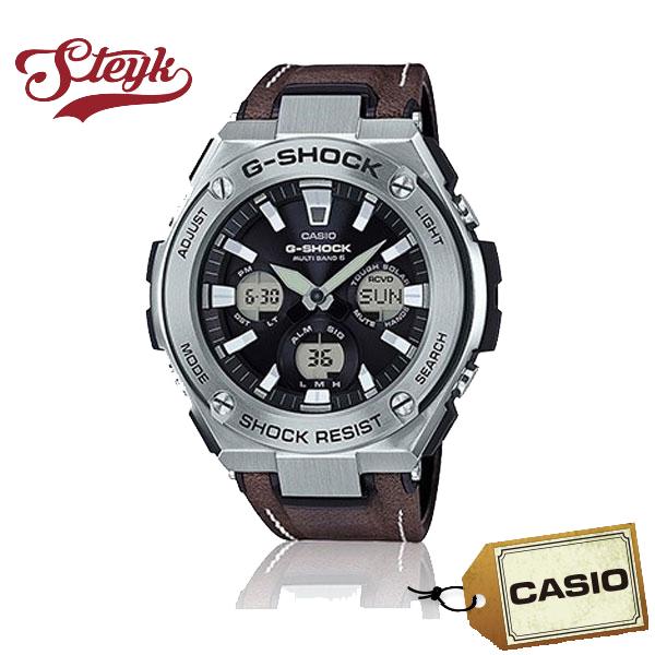 【あす楽対応】CASIO カシオ 腕時計 G-SHOCK ジーショック G-STEEL ジースチール アナデジ GST-W130L-1A メンズ【送料無料】