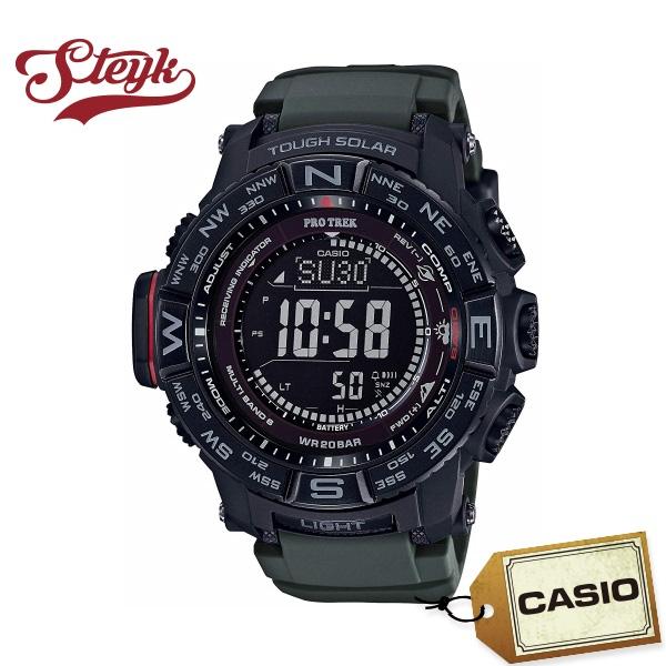 【あす楽対応】CASIO カシオ 腕時計 PRO TREK プロトレック デジタル PRW-3510Y-8 メンズ【送料無料】