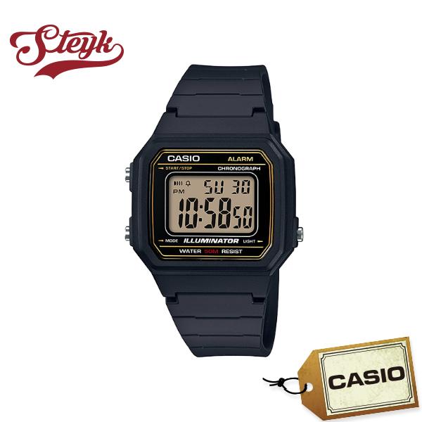 ご購入者様全員に時計拭きプレゼント レビュー投稿で3年保証 店内ポイント最大43倍クーポン配布中 CASIO 輸入 カシオ 腕時計 新品 STANDARD スタンダード チプカシ デジタル W-217H-9A メンズ チープカシオ