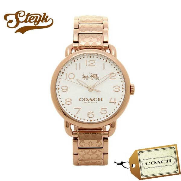 【あす楽対応】COACH コーチ 腕時計 DELANCEY デランシー シグネチャー アナログ 14502497 レディース【送料無料】