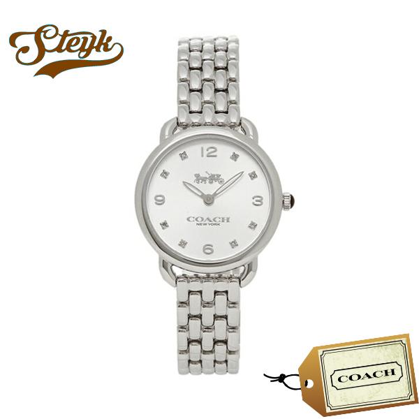 COACH 14502781 コーチ 腕時計 アナログ DELANCEY デランシー レディース シルバー ホワイト カジュアル
