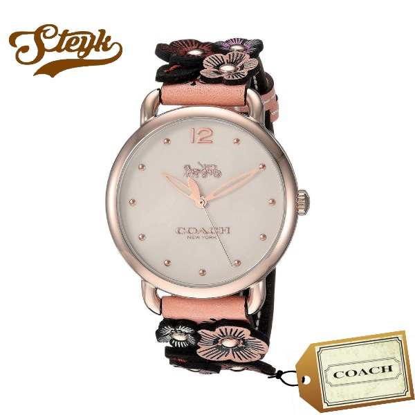 【あす楽対応】 COACH コーチ 腕時計 アナログ 14502822 DELANCEY FLOWER デランシー フラワー レディース 【送料無料】