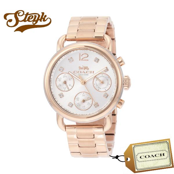 【あす楽対応】COACH コーチ 腕時計 DELANCEY デランシー スポーツ アナログ 14502944 レディース【送料無料】