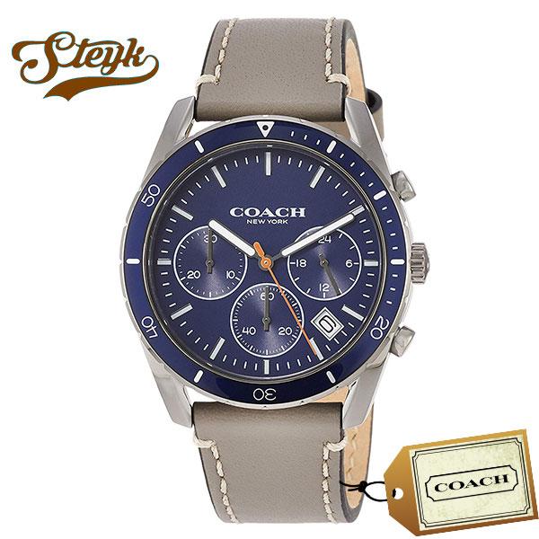 COACH 14602409 コーチ 腕時計 アナログ THOMPSON SPORT メンズ ブルー グレー シルバー カジュアル