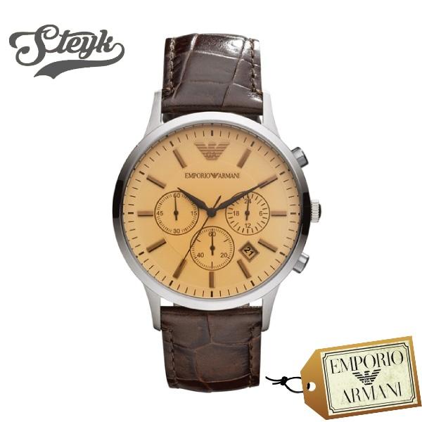 【あす楽対応】EMPORIO ARMANI エンポリオアルマーニ 腕時計 RENATO レナート アナログ AR2433 メンズ【送料無料】