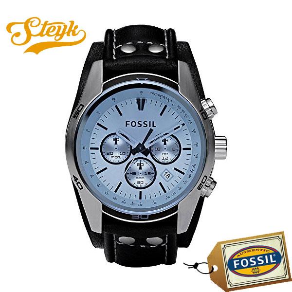 FOSSIL CH2564 フォッシル 腕時計 アナログ Coachman コーチマン メンズ ブルー ブラック ビジネス カジュアル