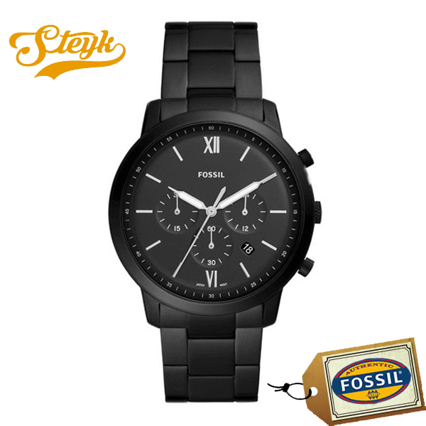 FOSSIL FS5474 フォッシル 腕時計 アナログ NEUTRA CHRONO メンズ ブラック カジュアル