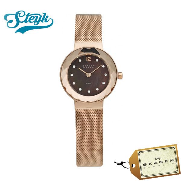 【あす楽対応】Skagen スカーゲン 腕時計 Steel スティール アナログ 456SRR1 レディース【送料無料】