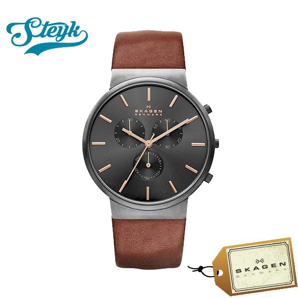 【あす楽対応】SKAGEN スカーゲン 腕時計 ANCHER アンカー アナログ SKW6106 メンズ【送料無料】