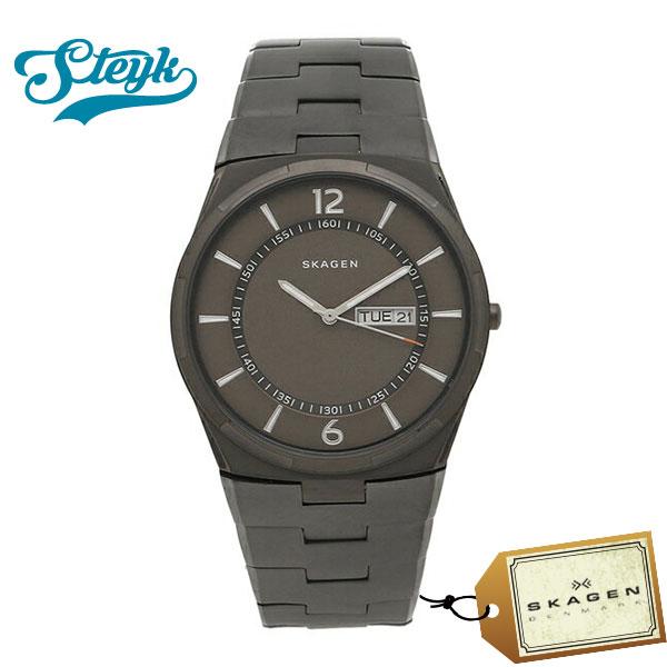 Skagen スカーゲン 腕時計 SKW6504 アナログ MELBYE メルビー メンズ グレー ビジネス
