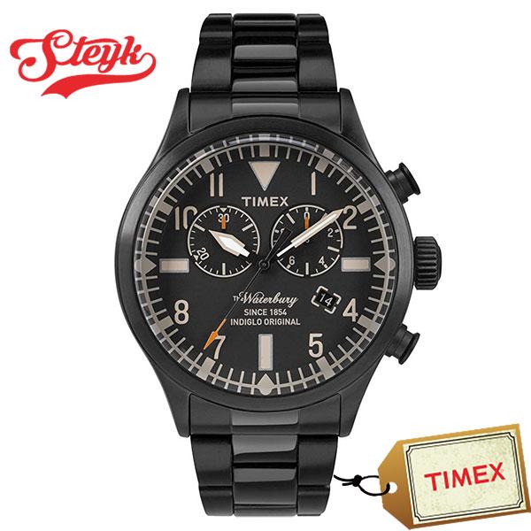 TIMEX TW2R25000 タイメックス 腕時計 デジタル Waterbury ウォーターベリー メンズ ブラック ビジネス カジュアル
