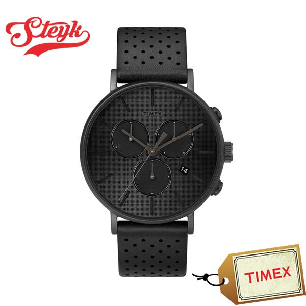 TIMEX TW2R79800 タイメックス 腕時計 アナログ FAIRFIELD フェアフィールド メンズ ブラック カジュアル