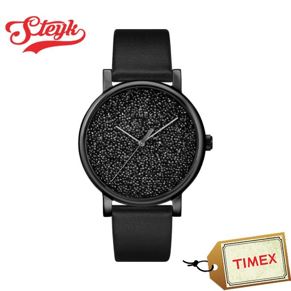 【あす楽対応】TIMEX タイメックス 腕時計 スワロフスキー クリスタル アナログ TW2R95100 レディース【送料無料】
