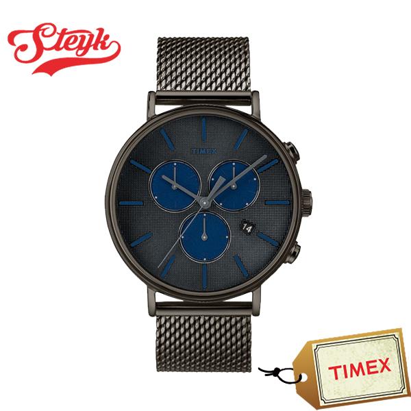 TIMEX TW2R98000 タイメックス 腕時計 アナログ FAIRFIELD フェアフィールド メンズ ブラック ネイビー カジュアル