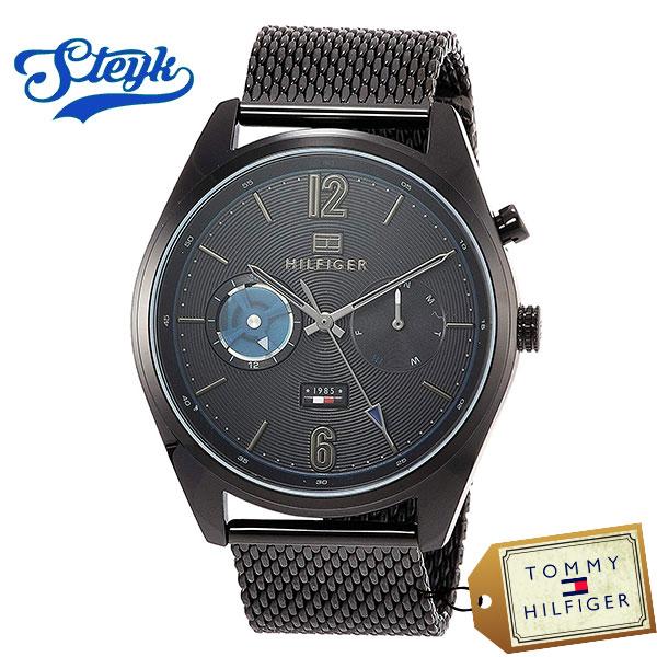 Tommy Hilfiger 1791547 トミーヒルフィガー 腕時計 アナログ Deacon メンズ ブラック カジュアル