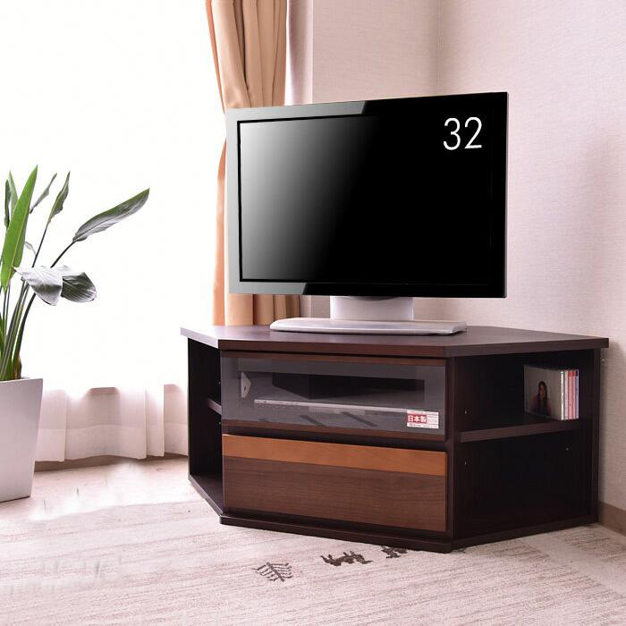 【送料無料】 国産 テレビボード テレビ台 コーナー 120cm TV ボード リビング リビングボード 大型 ロータイプ TV台 AVボード AV収納 家具通販