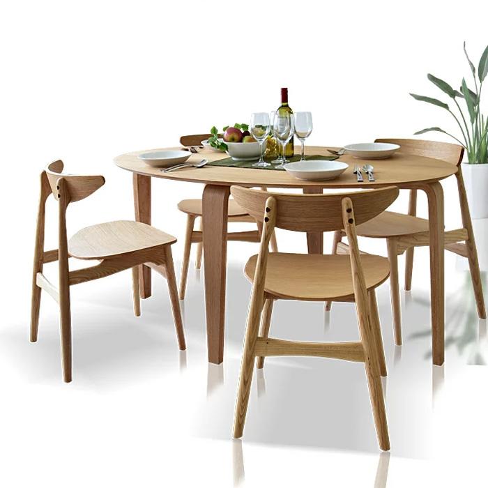 【送料無料】ダイニングテーブルセット 幅180 5点セット 木製 楕円テーブル ダイニングテーブル5点セット ダイニングチェアー 北欧 ダイニングテーブル 食卓 テーブルセット 4人掛け モダン ナチュラル