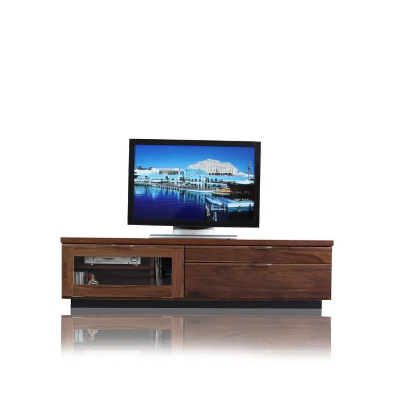 【送料無料】テレビ台 ローボード 幅150 ウォールナット 完成品 木製 TV台 テレビボード リビングボード 引出し 50インチ対応 大容量 液晶 プラズマ 薄型TV 木製 大川 家具