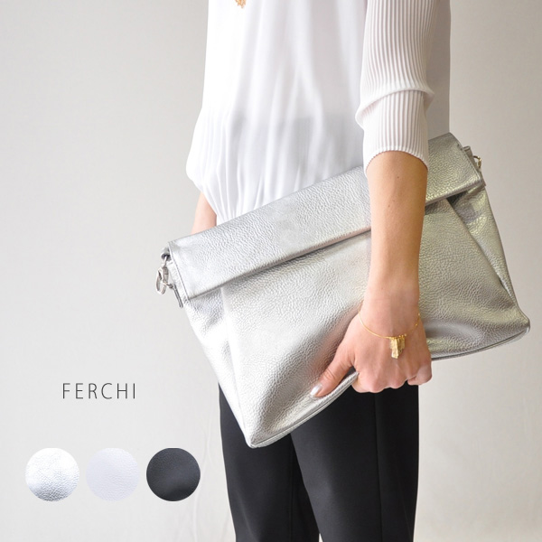 The Ferchi 42324 ファルチ Rakuten Card Division Made In Fashion 2way Clutch Bag Shoulder Spain Fourth And Fifth Decades Of Life