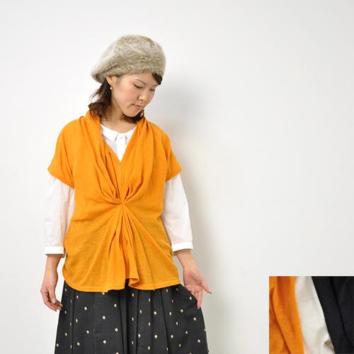 30代~40代 ファッションコーディネート denicherデニシェウールガーゼ フロントタック チュニックレディースO0nwX8kP
