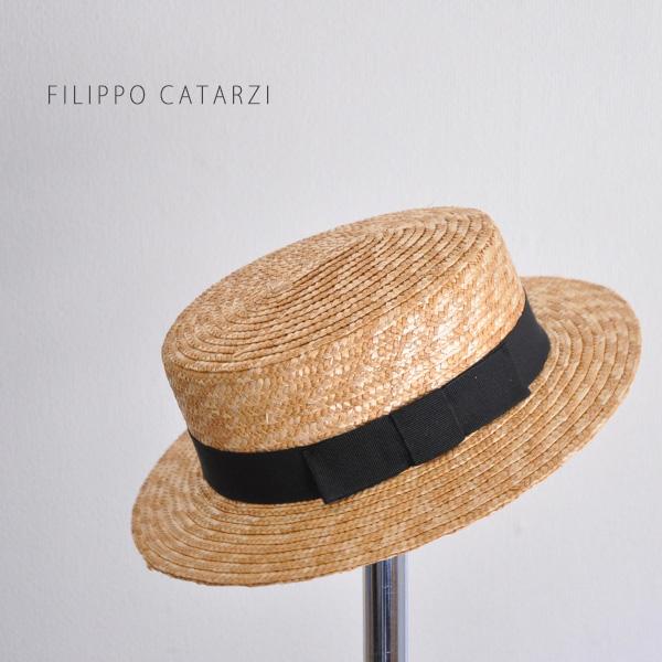 f694f34b9e0 30s-40s fashion Hat women s straw hat Boater ladies straw Boater straw hat  Hat summer Hat Sun Hat ladies FILIPPO CATARZI 4303   15 filippocatartzi  0824 ...