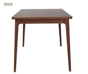 AJIM ibiza dining table walnut/ajimuibizadaininguteburuuorunatto/ajimuteburu