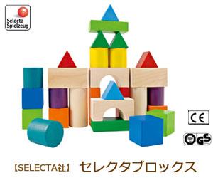 【SELECTA/セレクタ】セレクタブロックス/木のおもちゃ/木製玩具/出産祝い/知育玩具/ファーストブロック