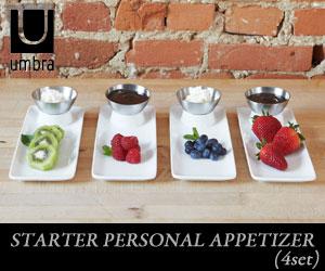 【UMBRA/アンブラ】STARTER PERSONAL APPETIZER(スターター アペタイザー)4セット/オードブルセット/テーブルコーディネート