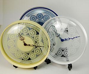 IDEA(イデア) レースウォールクロック / 壁掛け時計